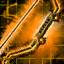 Arc court de l'empereur serpent