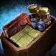 Kiste mit Gesellen-Schreibvorräten