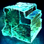 Large Crystal Block of the Solid Ocean