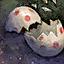 Coquille d'œuf résistante au froid
