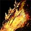 Sac à dos carquois de feu