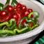 Schüssel mit Winterbeeren-Seetangsalat