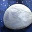 Grande demi-sphère de neige