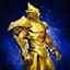 Trofeo de dirigente mursaat de oro