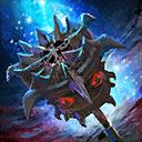Verteidigender Dämonen-Holzhammer