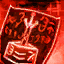 Crimson Assassin Shield Skin