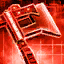 Crimson Assassin Axe Skin