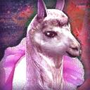 Mini Elegant Princess Llama