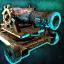 Decoration: Cannon