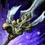 Mistforged Hero's Trident