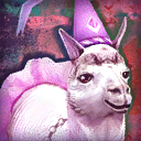 Mini Lavish Princess Llama