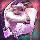 Mini Fancy Princess Llama
