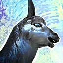Mini Silver Llama
