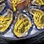 Huitre à la sauce citronnée
