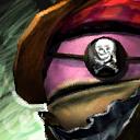 "Mini Holtzbeyn die ""Piratin"""