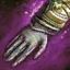 Inbrünstige ruhmreiche Handgelenkp...