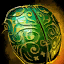 Gilded Scarab Shell