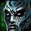Faulende Gespenster-Maske des Nekro...