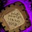 Rezept: Verheerende Inschrift Zehtu...