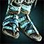 Feindfeuer-Beinschienen