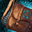 32-Slot Cowrie League Saddlebag