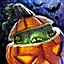Mini Halloween-Kürbiss