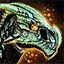 Gruselraptor-Reittier