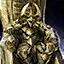 Bronzetrophäe Dhuums