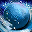 Enchanted Colorful Snowball (Blue)