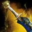 Mistforged Obsidian Sword