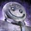 Escultura de hielo de hombre de jengibre