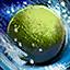 Enchanted Colorful Snowball (Green)