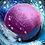 Enchanted Colorful Snowball (Purple...