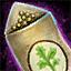 Morral de semillas de cilantro