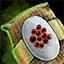 Morral de semillas de espárrago