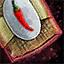 Morral de semillas de pimienta de cayena