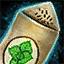 Morral de semillas de menta