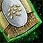 Morral de semillas de sésamo