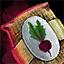 Morral de semillas de remolacha