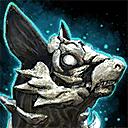Minicachorro de chacal negro