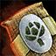 Morral de semillas de alcachofa