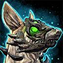 Mini Green Jackal Pup