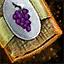 Morral de semillas de uva