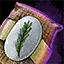 Morral de semillas de romero