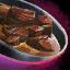 Plat de bœuf rendang