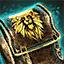 Sac de matériaux du Lion noir : Is...