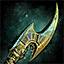 Diseño de daga del rey del desiert...