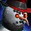 Mini-bonhomme de neige enragé