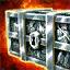 Boîte de pièces d'armure draconique nécrophage